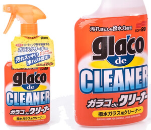 Mycie szyb SOFT99 - Glaco De Cleaner 400ml