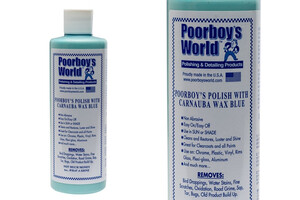 All in One POORBOY'S - Polish with Carnauba Wax Blue 473ml