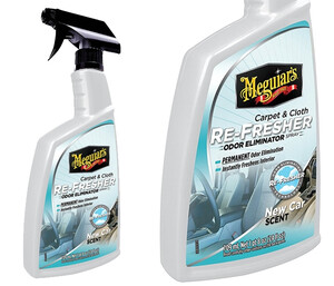 Eliminator zapachów MEGUIARS - Carpet Cloth Re-Fresher Odor Eliminator 709ml