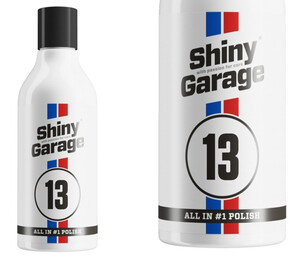 All in One SHINY GARAGE - All in One Resin Wax Polish 250ml