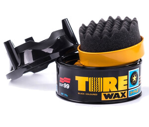 Dressing do opon SOFT99 - Tire Black Wax 170g