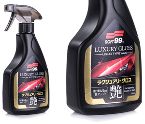 Detailer z woskiem SOFT99 - Luxury Gloss 500ml