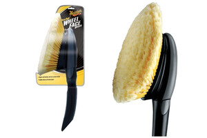Szczotka do felg MEGUIARS - Versa Angle Wheel Face Brush With Short Handle