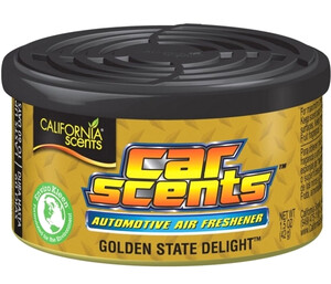 CALIFORNIA CAR SCENTS - zapach gumy do żucia - GOLDEN STATE DELIGHT