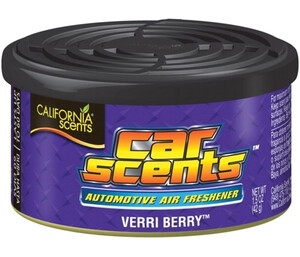 CALIFORNIA CAR SCENTS - zapach jagody - VERRI BERRY