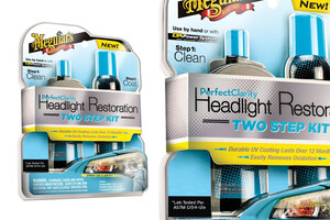 Zestaw do pielęgnacji reflektorów MEGUIARS - Perfect Clarity 2-step Headlight Kit