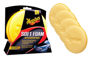 Aplikator MEGUIARS - Soft Foam Applicator Pad (4-pack bulk)