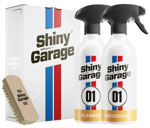 Zestaw do dachów Cabrio SHINY GARAGE - Cabrio Protect Kit 2x500ml