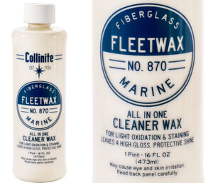 Cleaner do lakieru COLLINITE - 870 Fleetwax Liquid Cleaner Wax 473ml