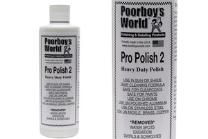 Cleaner do lakieru lekkościerny POORBOY'S - Pro Polish 2 473ml