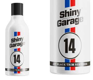 Dressing do plastików zewn. SHINY GARAGE - Jet-Black Exterior Trim Restorer 250ml