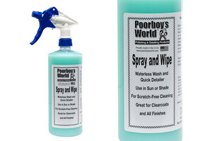 Mycie bezwodne POORBOY'S - Spray & Wipe Waterless Wash 946ml