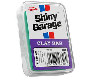 Glinka do lakieru SHINY GARAGE - Clay Bar Fine 100g