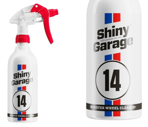 Mycie felg SHINY GARAGE - Monster Wheel Cleaner Plus Gel 500ml