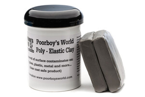 Glinka do lakieru POORBOY'S - Elastic Clay Bar 200g