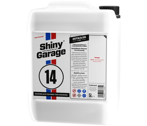 Dressing do opon z kwarcem SHINY GARAGE - Back2Black Polymer Tire Dressing 5L