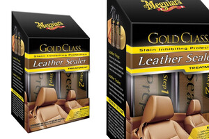 Zestaw do czyszczenia skóry Meguair's - Gold ClasGold Class™ Leather Sealer Treatment