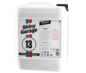 Detailer SHINY GARAGE - Morning Dew Quick Detailer 5L