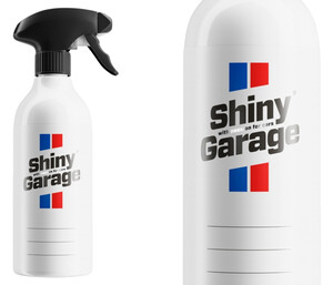 Pusta butelka SHINY GARAGE - z atomizerem 500ml