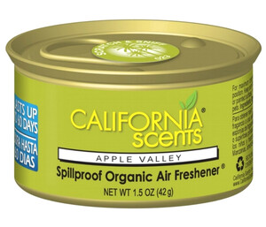 CALIFORNIA CAR SCENTS - zapach jabłkowy - APPLE VALLEY