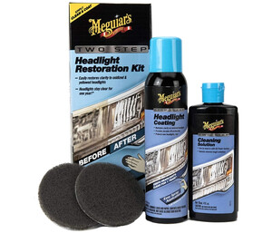 Zestaw do renowacji reflektorów MEGUIARS - Headlight Restoration Kit Two Step