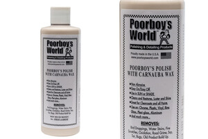 All in One POORBOY'S - Polish with Carnauba Wax 473ml