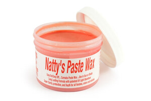 Wosk naturalny Carnauba POORBOY'S - Natty's Paste Wax Red 227g