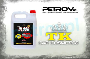Mycie felg TK Car Cosmetics - Blood Wheel Cleaner 5L