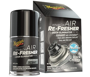 Eliminator zapachów MEGUIARS - Air Re-freshner Black Chrome Scent