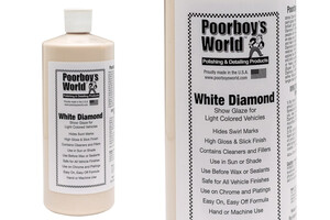 Politura POORBOY'S - White Diamond Show Glaze 946ml