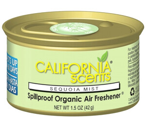 CALIFORNIA CAR SCENTS - zapach sekwoi - SEQUOIA MIST