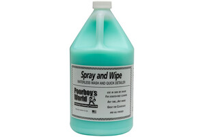 Mycie bezwodne POORBOY'S - Spray & Wipe Waterless Wash 3,8L