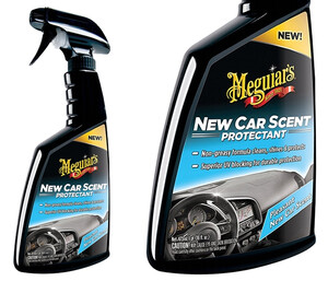 Dressing do plastików MEGUIARS - New Car Scent Protectant 473ml