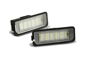 VW Passat B6 05- Sedan Lampka tablicy rejestr. DIODY LED