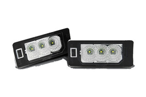 Audi A7 10-, Lampka tablicy rejest LED CREE CLEAR