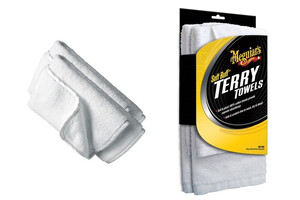 Mikrofibra MEGUIARS - Soft Buff Terry Towels 3sztuki