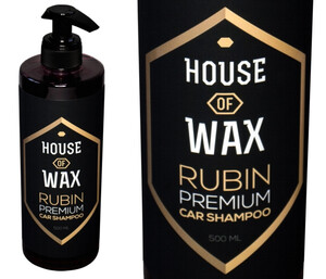 Szampon HOUSE OF WAX - Rubin Car Shampoo 500ml