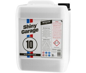 Piana SHINY GARAGE - Fruit Snow Foam Blue neutral pH 5L