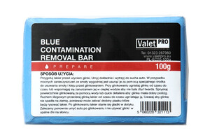 Glinka do lakieru ValetPRO - BLUE Clay Bar Traditional 100G