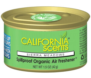 CALIFORNIA CAR SCENTS - zapach łąkowy - SIERRA MEADOWS