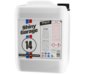 Mycie opon i gumy SHINY GARAGE - Pure Black Tire Cleaner 5L