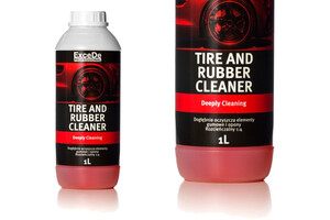Mycie opon i gumy EXCEDE - Tire and Rubber Cleaner 1L