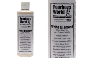 Politura POORBOY'S - White Diamond Show Glaze 473ml