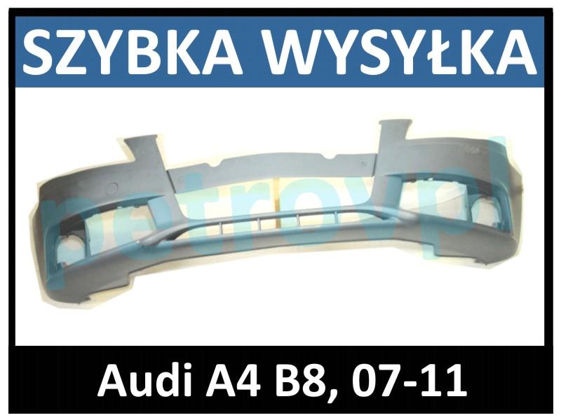 Audi A4 B8 07 11 Zderzak Przód Przedni Nowy Malow Petrovpl Nowe